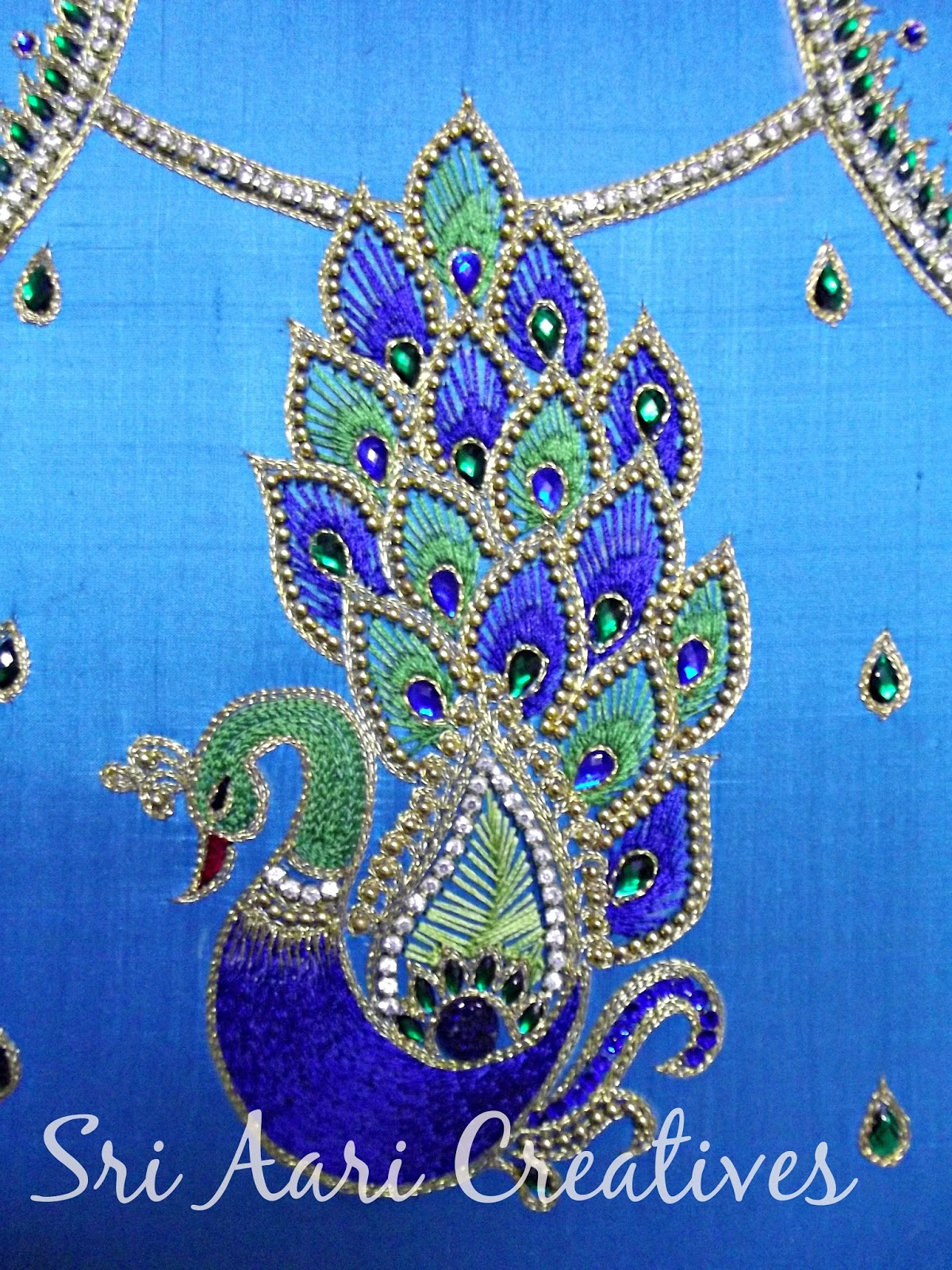 1000 Images About Peacock Blouses On Pinterest