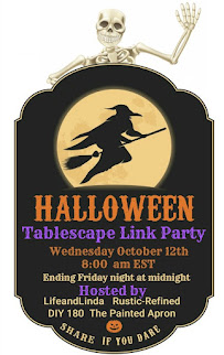 Halloween Tablescape Party