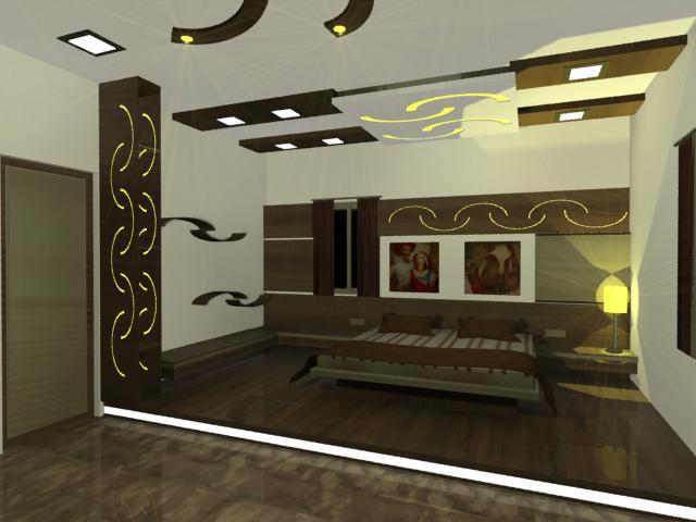 Pratik Shah Master Bedroom Design For A Bunglow
