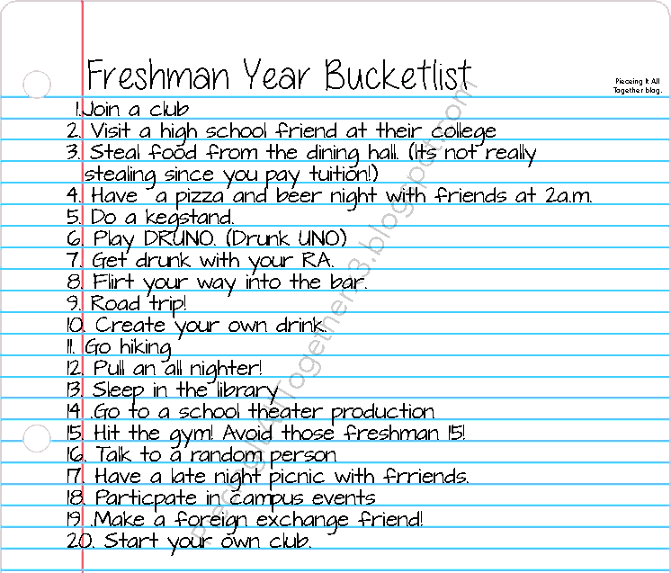 the bucket list 2 essay