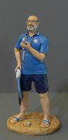 statuette personalizzate allenatore nuoto cronometro orme magiche