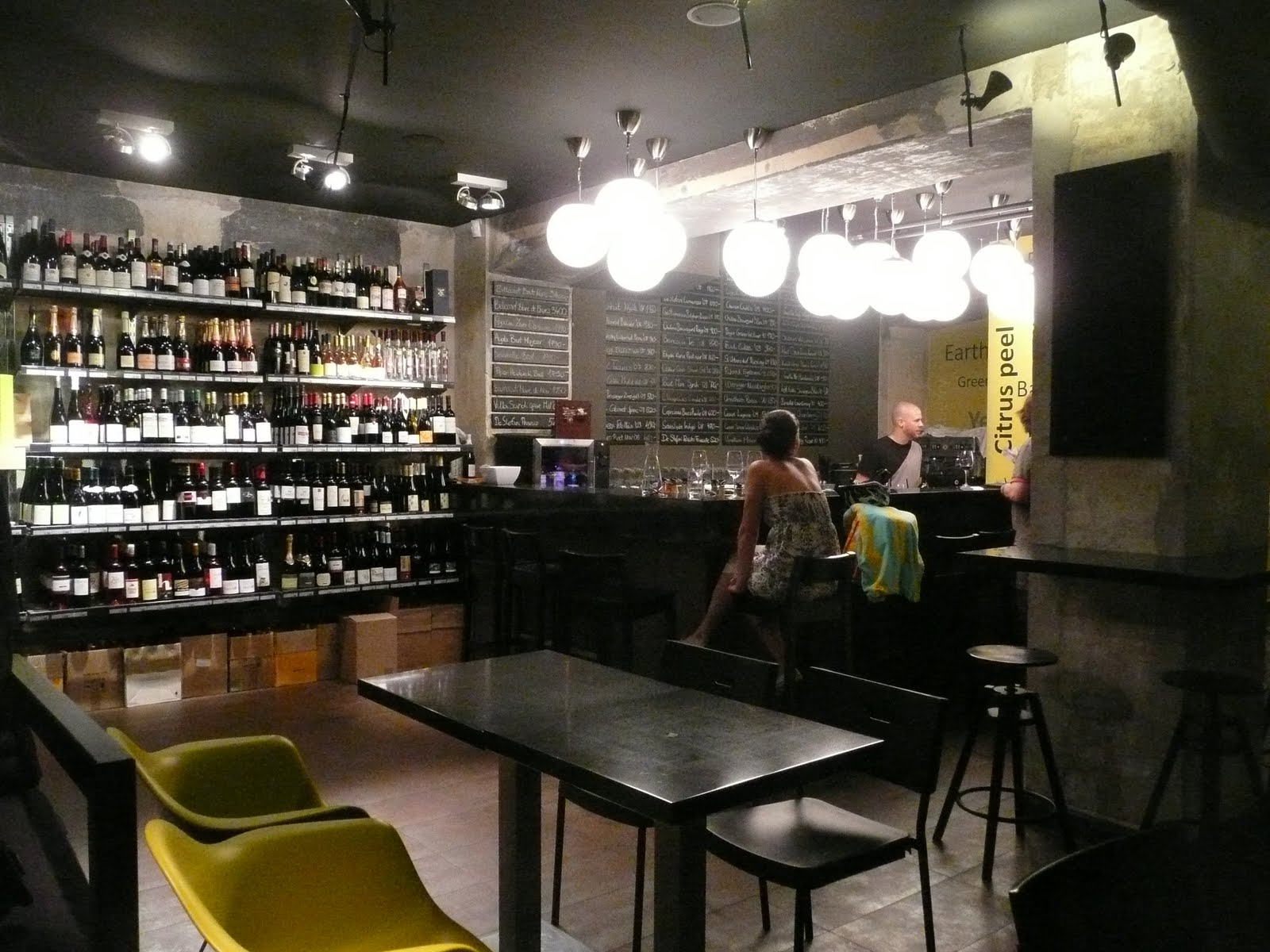 schiller-wine: Drop Shop Wine Bar in Budapest, Hungary