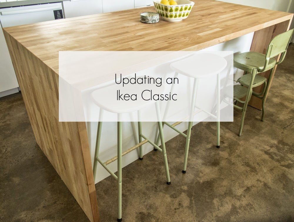 Pure And Noble Around The House Updating An Ikea Classic