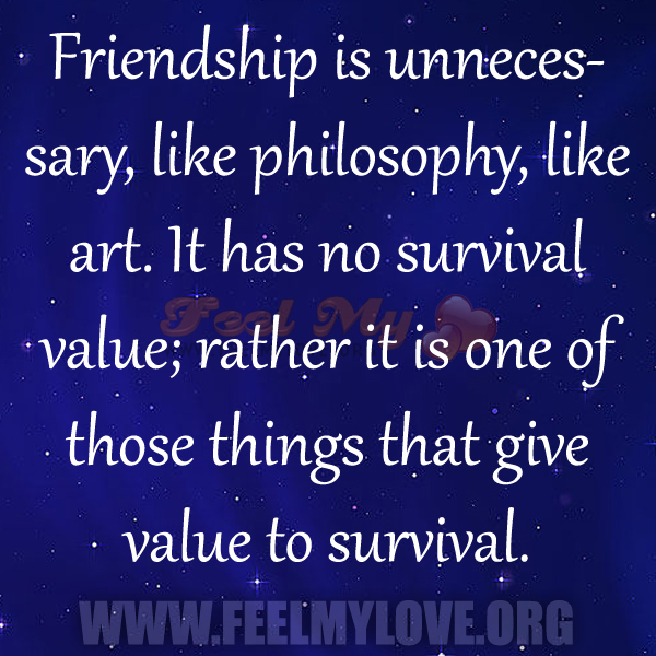 Philosophical Quotes On Friendship. QuotesGram