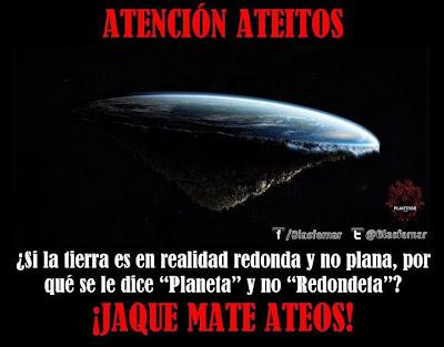 """""""¡Jaque Mate, Ateos!"""". Humor Gráfico."""