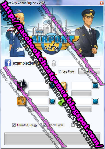Airport City Cheat Engine Facebook Games