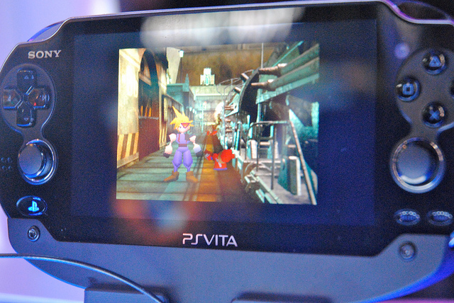 FF7 on the PS Vita