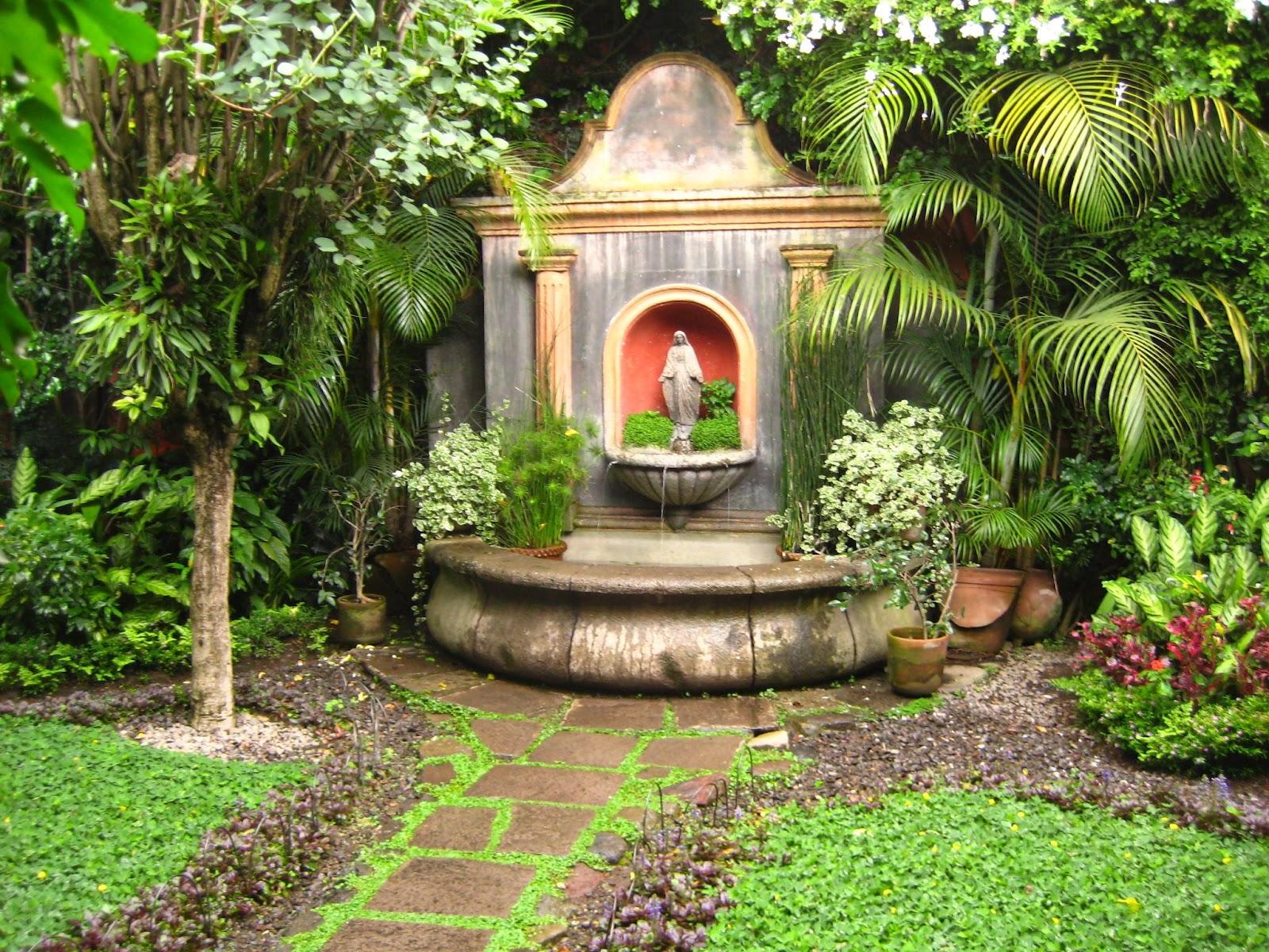 Xardinnova m s fuentes for Fuentes ornamentales jardin