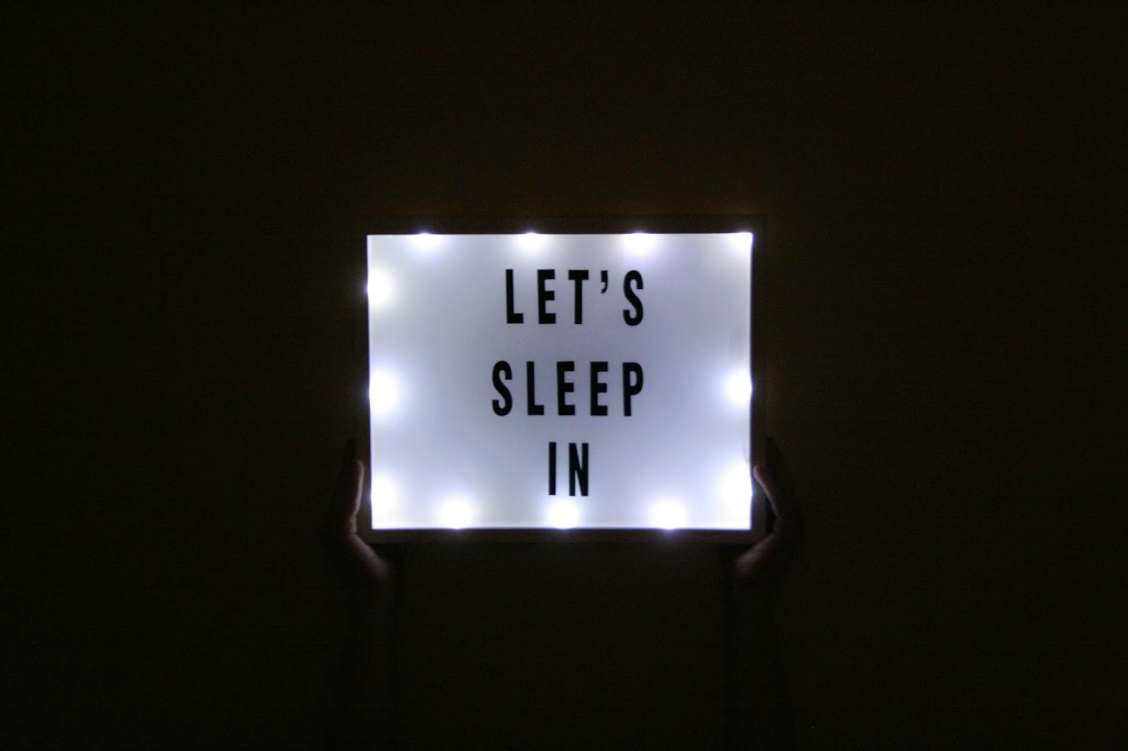 diy light up sign the surznick common room. Black Bedroom Furniture Sets. Home Design Ideas