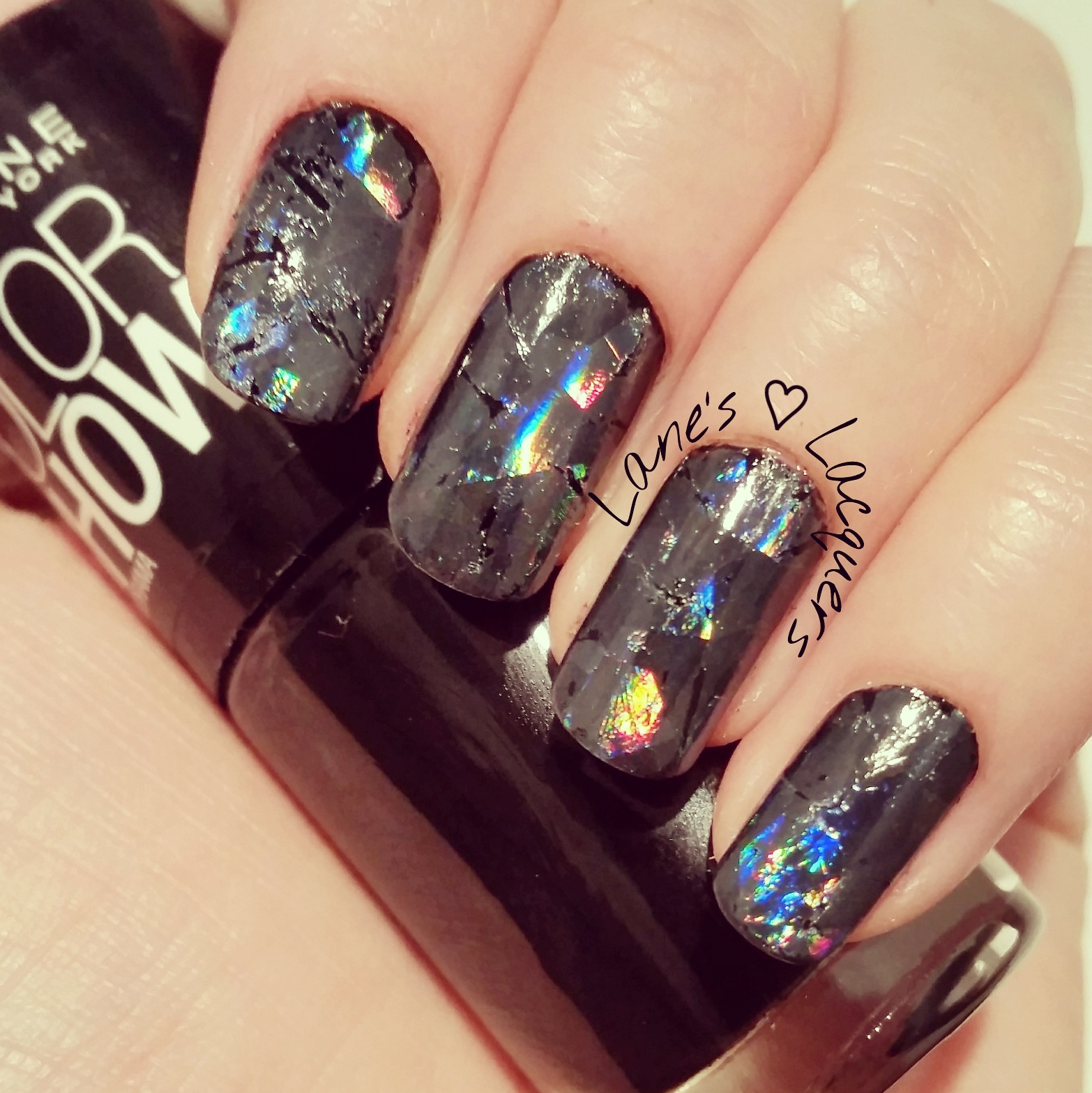 Nail art 2 naples fl images nail art and nail design ideas broken glass nail art image collections nail art and nail design lanes lacquers monday manicure shattered prinsesfo Image collections