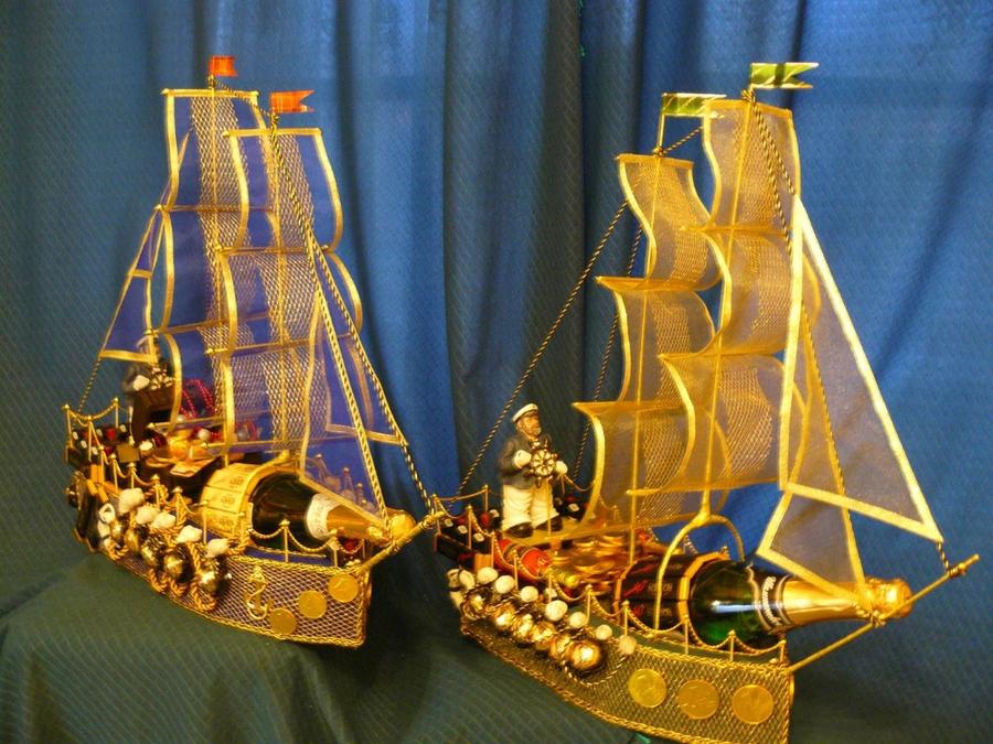 Корабль с коньяком своими руками мастер класс 100