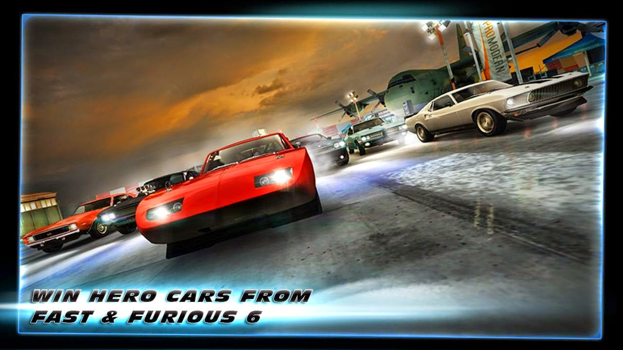 Fast & Furious 6: The Game v4.0.1 Mod [Unlimited Energy/NOS/Coin]