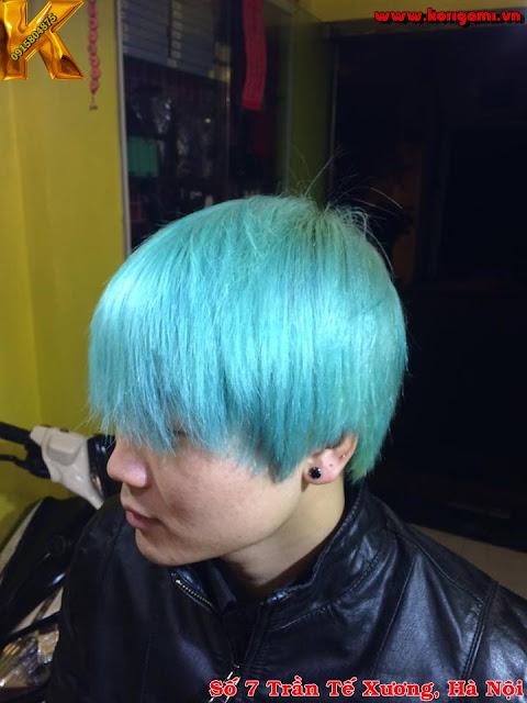 hair color, tóc nam