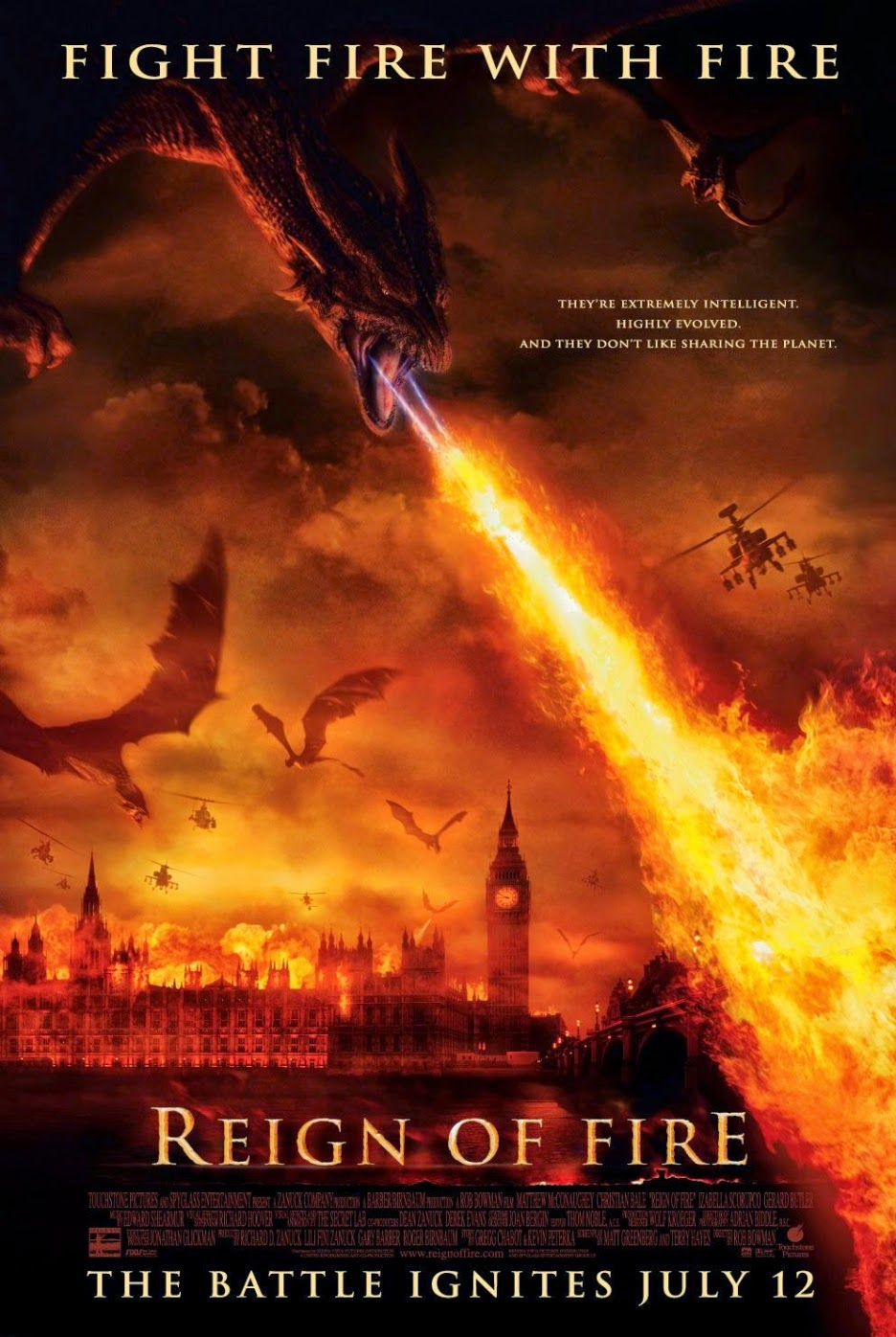 El Reinado del fuego (2002) Online