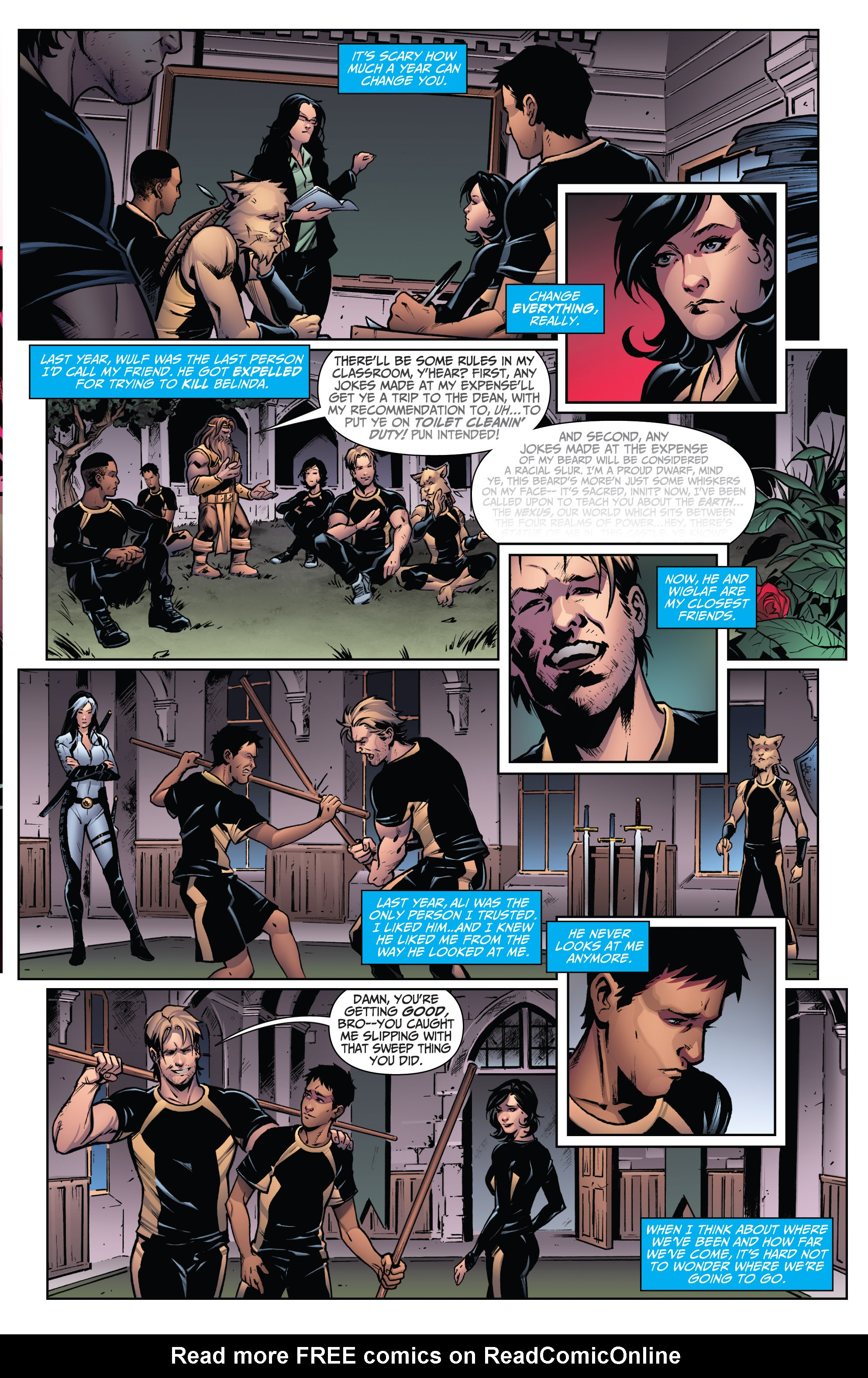 Grimm Fairy Tales (2005) Issue #113 #116 - English 11