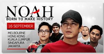 konser NOAH