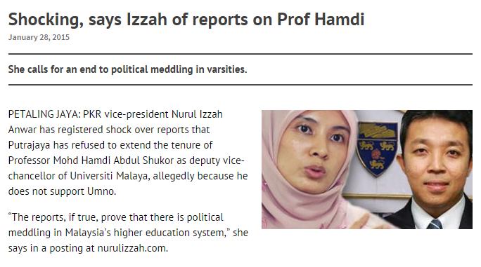 Siapa Prof Hamdi Yang Kerap Dipertahankan Pemimpin PKR