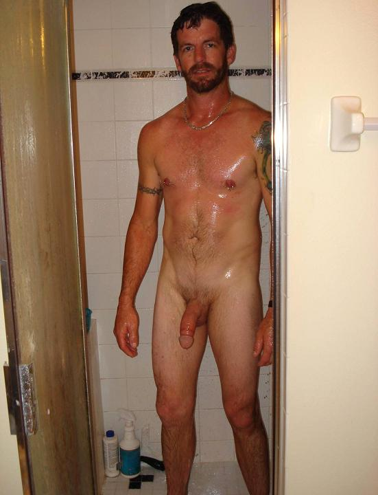 Dudes nude shower