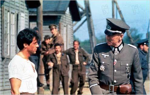 'Evasión o victoria', de 1981. Película de John Houston con Michael Caine, Sylvester Stallone, Pelé, Osvaldo Ardiles y Bobby Moore