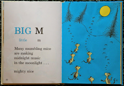 """M"" from Dr. Seuss's ABC, by Dr. Seuss."