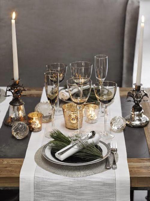 Como poner la mesa para navidad - Como decorar la mesa en navidad ...