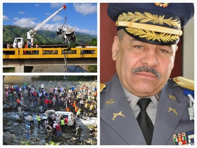 De la Cruz Martínez resultó decapitado en el accidente
