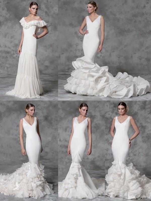 los vestidos de novia de vicky martin berrocal para el 2014
