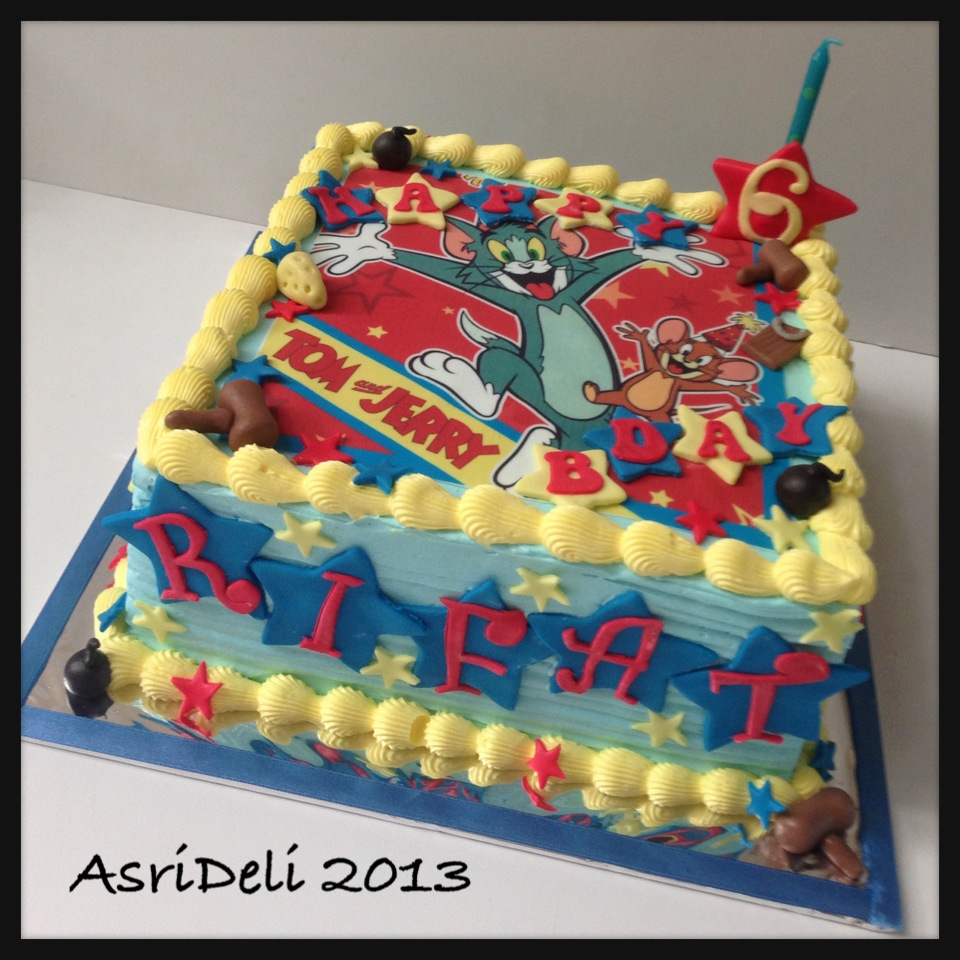 Asri Deli Blog Tom And Jerry Cake Dan Cupcakes Rifat