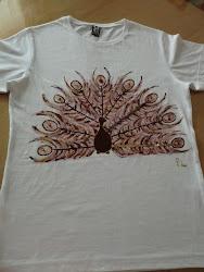 Camiseta Pavo Marrón