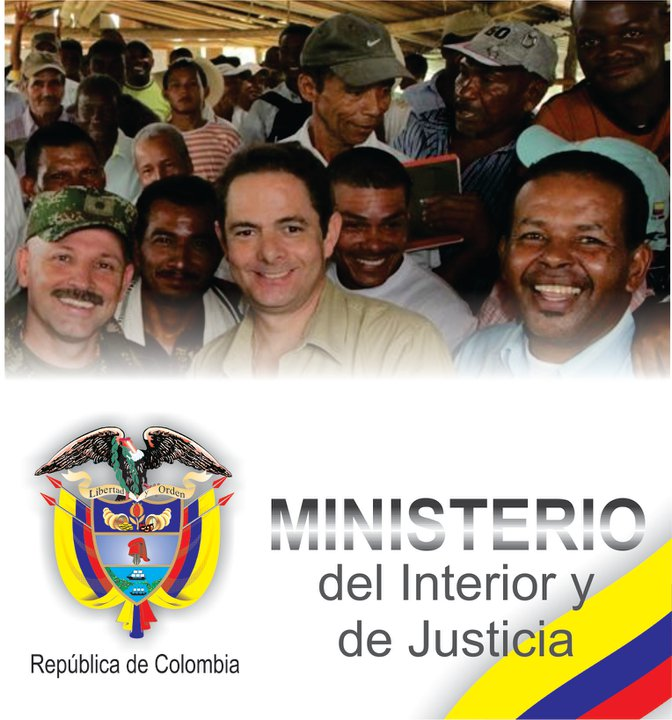 Germ n vargas lleras nuevo ministerio de justicia se for Ministerio del interior y de justicia
