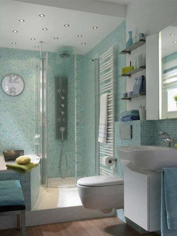2014 Clever Solutions For Small Bathrooms