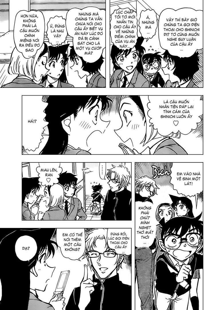 Detective Conan - Thám Tử Lừng Danh Conan chap 813 page 15 - IZTruyenTranh.com
