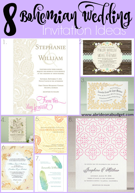 Bohemian-Wedding-Invitation-Ideas