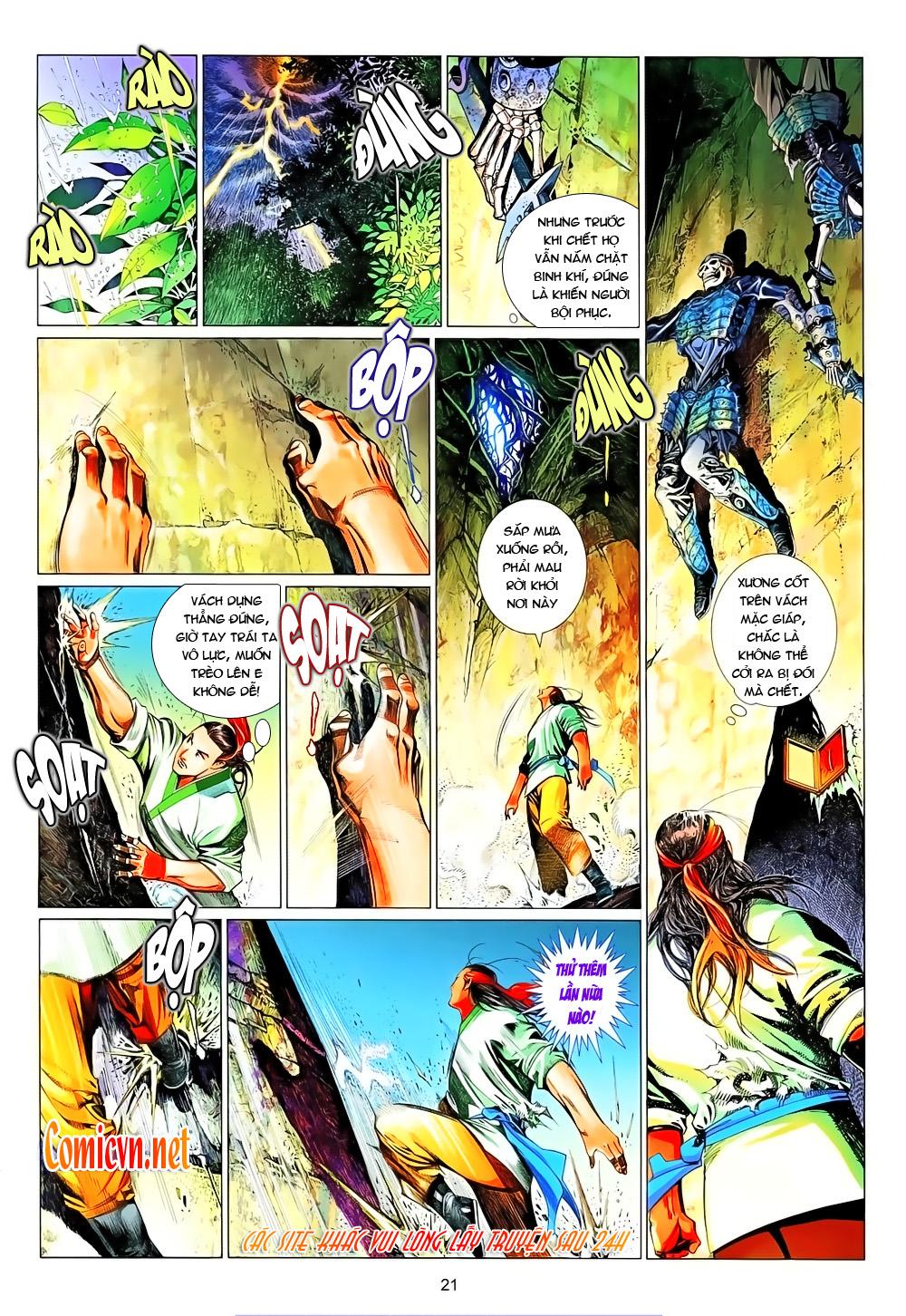 Phong Vân chap 638 Trang 18 - Mangak.info