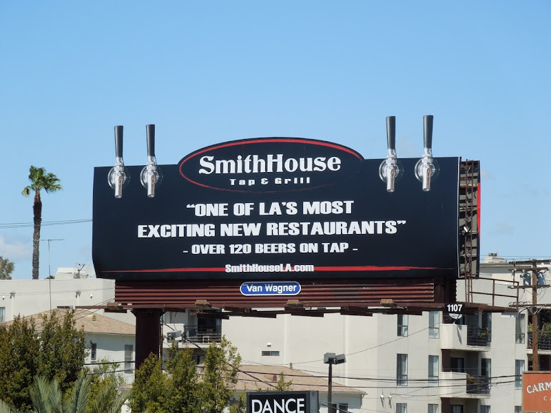 SmithHouse billboard