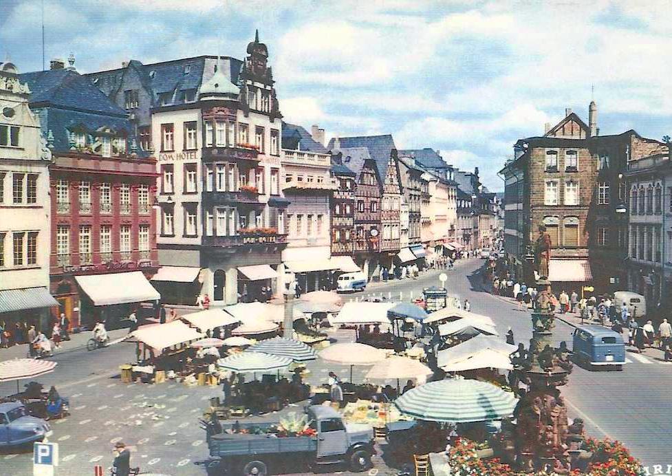 Trier Germany  City pictures : transpress nz: Trier, Germany, circa 1960