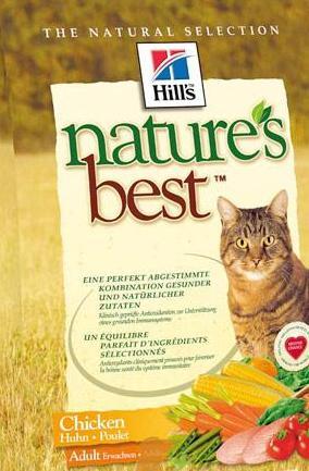 Изображение к теме о кормах Hills для кошек