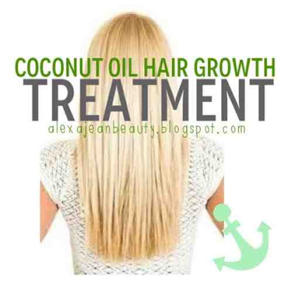 Coconut Oil Hair Growth Treatment - Hair Loss Treatment At home With Coconut Pil (Hair loss Treatment)