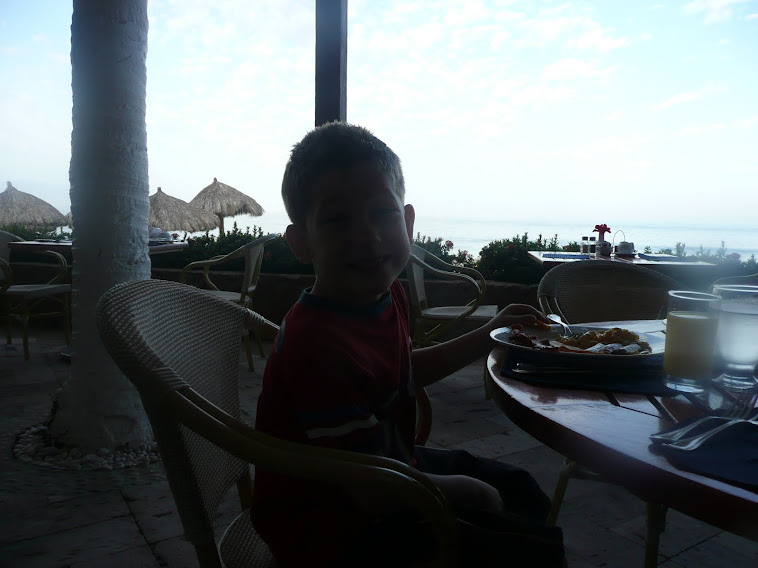Jonathan au déjeuner