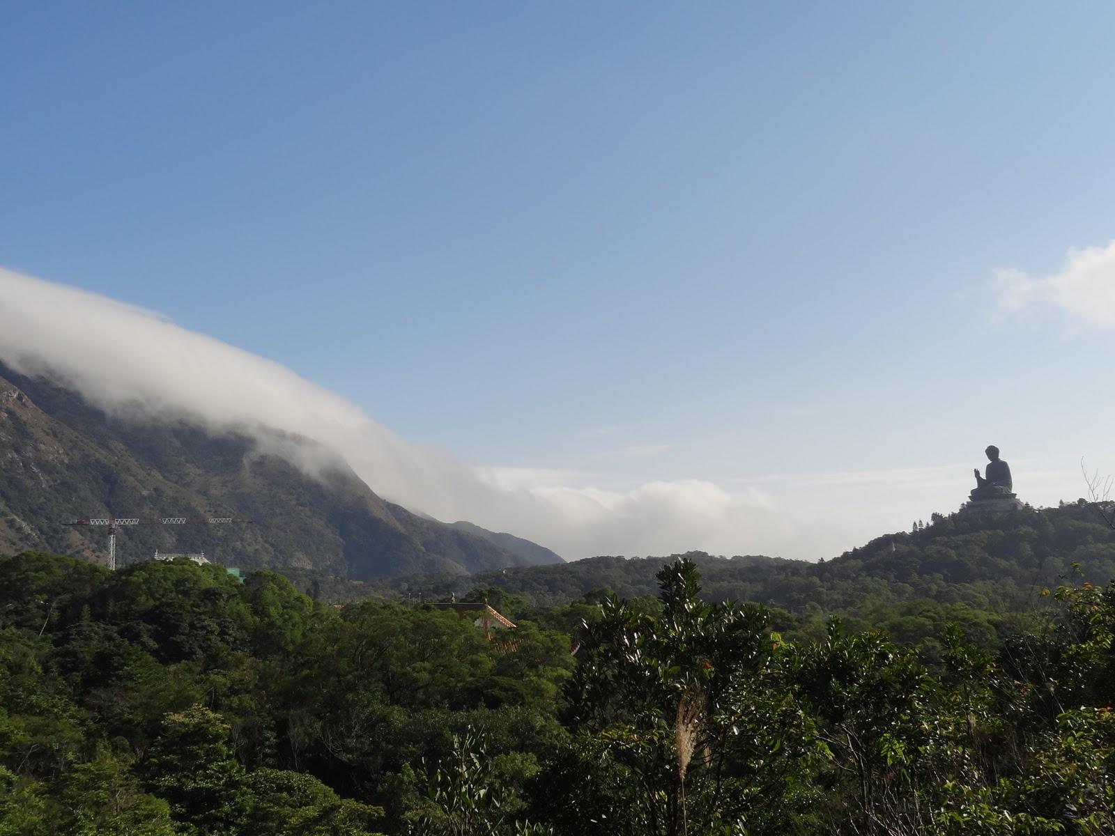 Big Buddha And Run Lantau Island