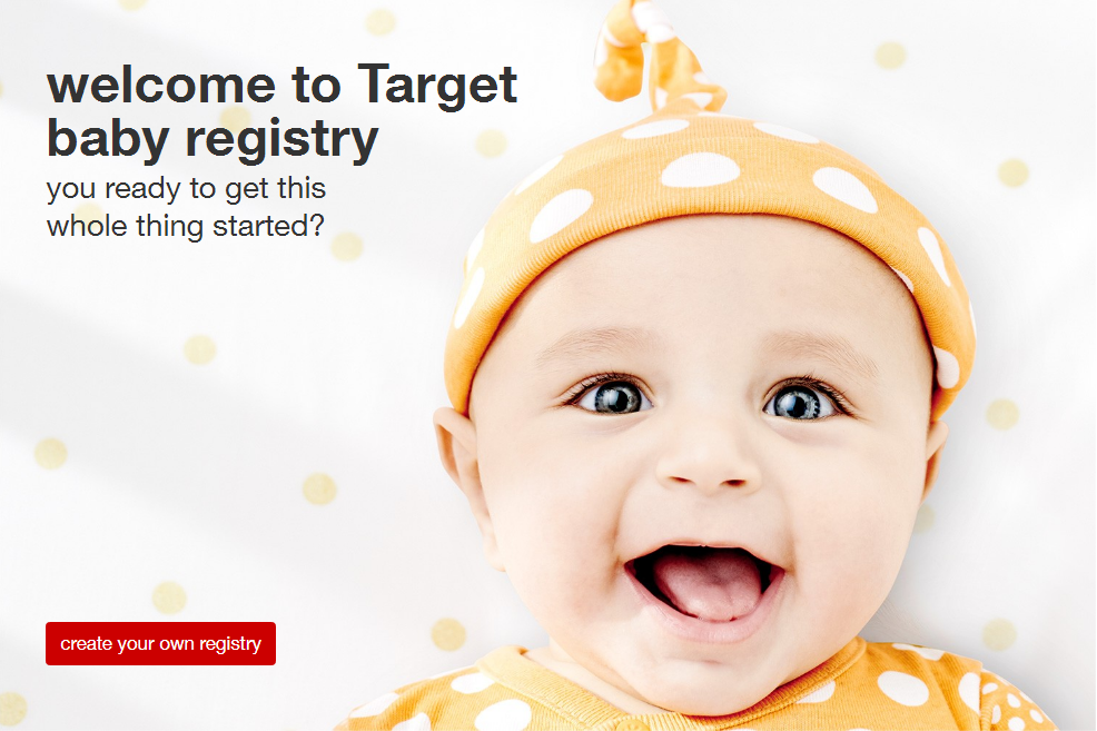 Target Baby Regsitry