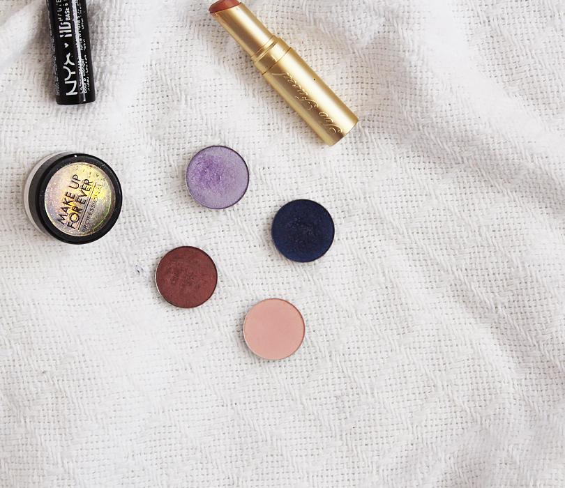 Ethereal fairy glitter makeup pink purple lilac ice ballet eyeshadow coastal scents deep eggplant jacob jugashvili