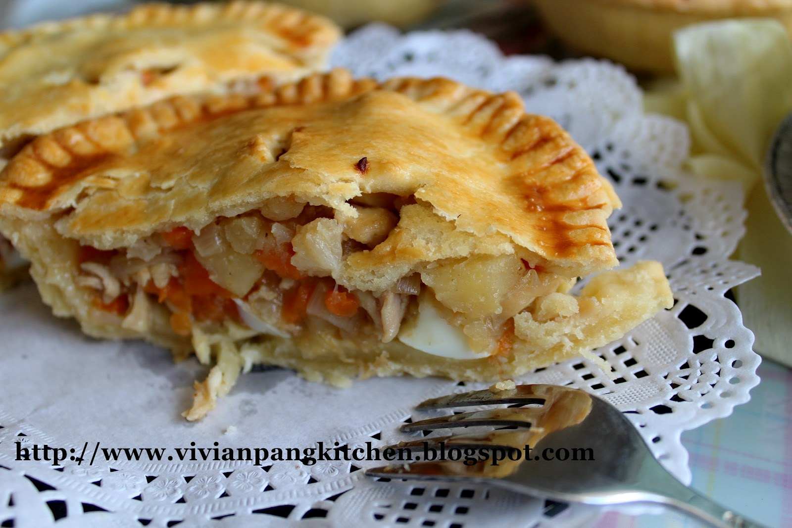 Chicken Pie/ Shortcrust Pastry