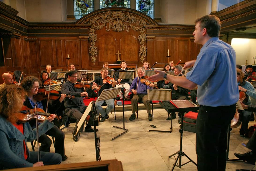 Jacques Cohen conducting the Isis Ensemble