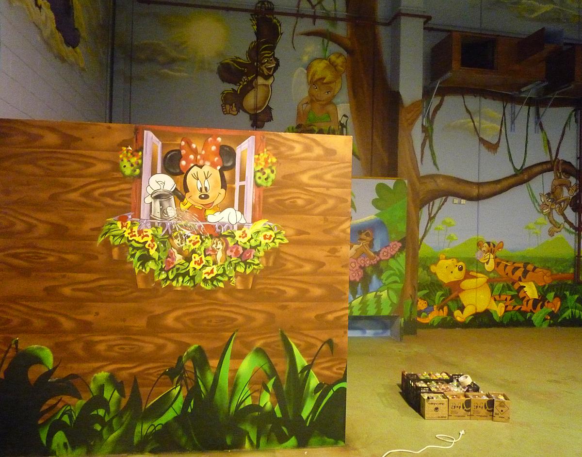 Berok graffiti mural profesional en barcelona xxl - Murales de madera ...