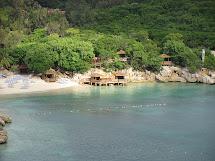 Barefoot Beach Labadee Haiti Cabanas