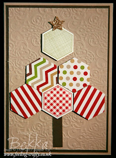 Six Sided Sampler Christmas Tree Card by Bekka - get the Stampin' Up! products used to make these adorable cards here