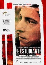 Afiche de 'El estudiante'