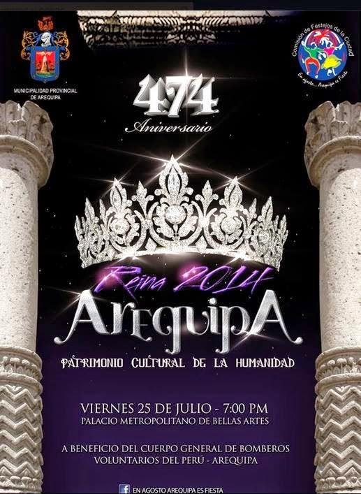 Miss Arequipa 2014