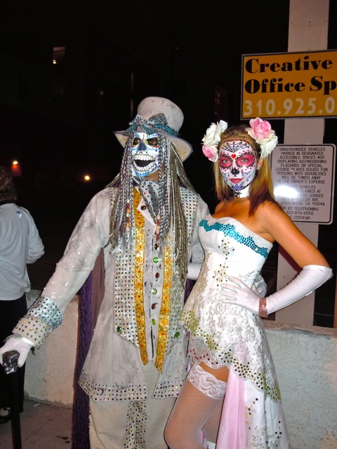 West Hollywood Halloween costumes 2011